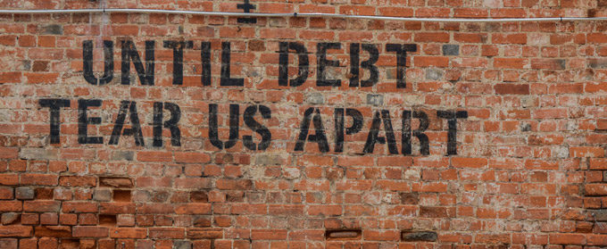 6 Staggering Debt Statistics Plaguing Our World (and one word to solve it)